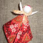 Мастер-класс от калтанской рукодельницы Алины Кораблевой: кукла-оберег